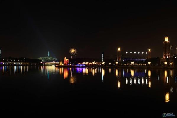再拍千灯湖夜景